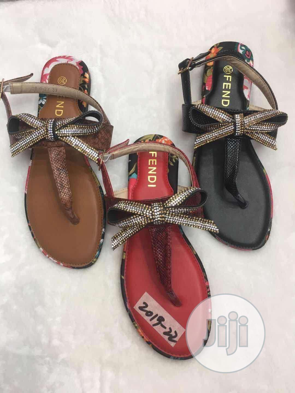 Fendi Ladies Sandals | Shoes for sale in Lagos Island (Eko), Lagos State, Nigeria