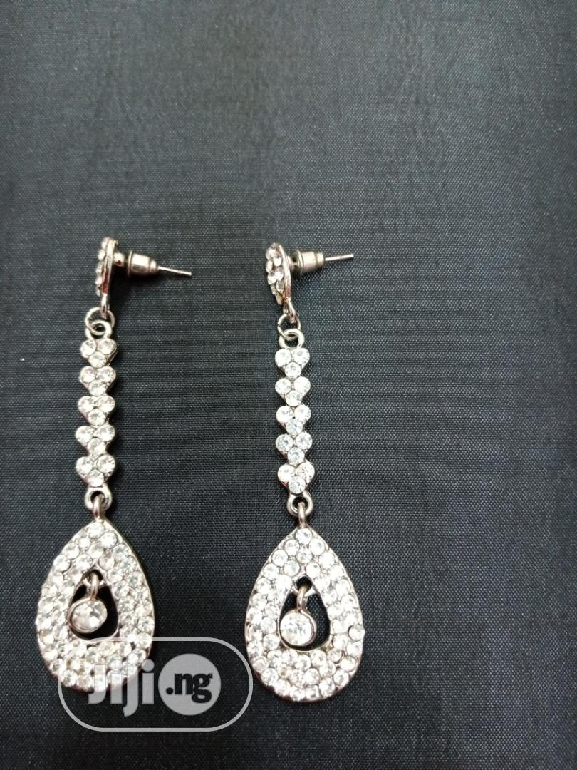 Quality Sliver Bridal Earring | Wedding Wear & Accessories for sale in Wuse, Abuja (FCT) State, Nigeria
