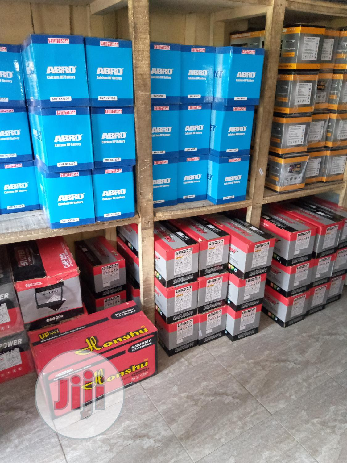 All Kinds Of Motors Dry Cell Battery Car And Jeep Battery