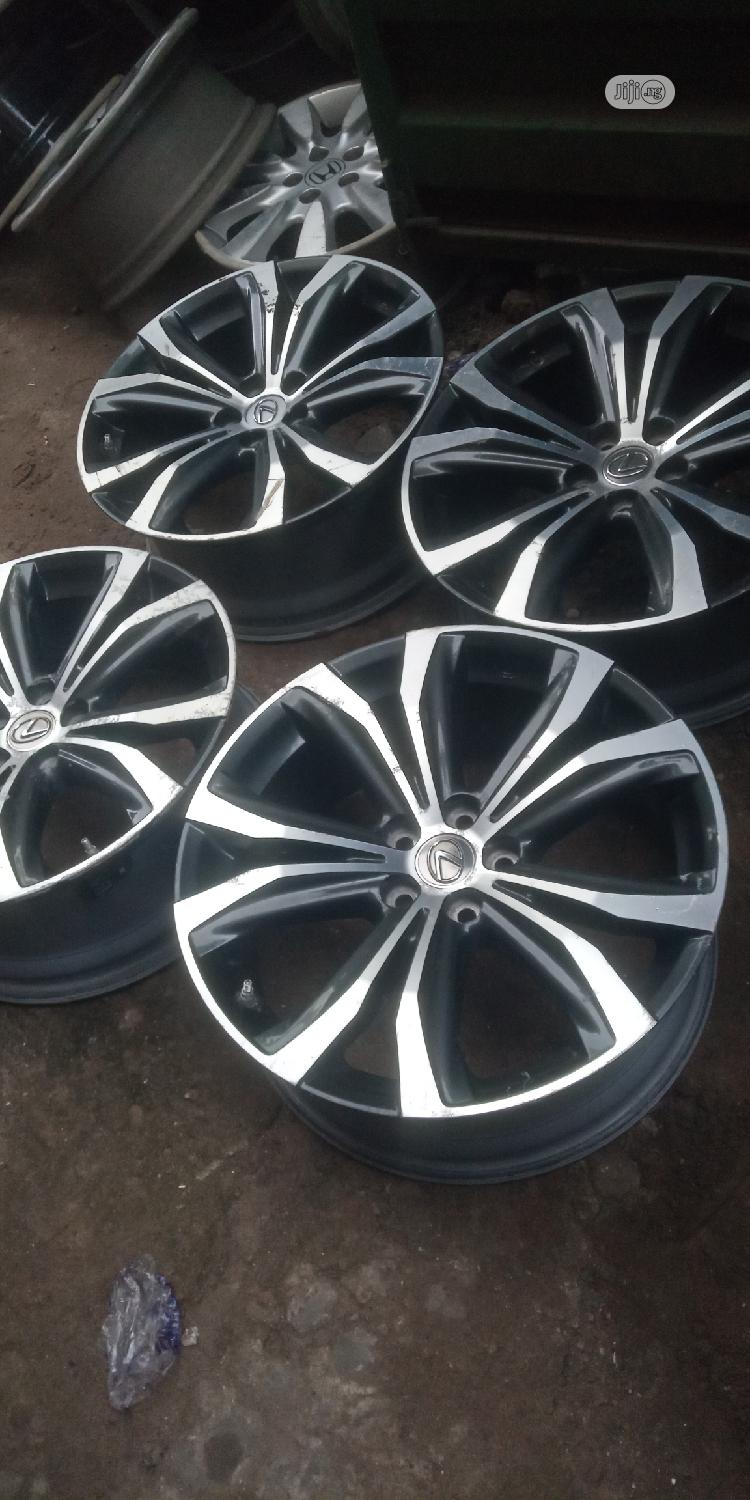 20 Rim for Toyota Venza 2018 Model | Vehicle Parts & Accessories for sale in Mushin, Lagos State, Nigeria