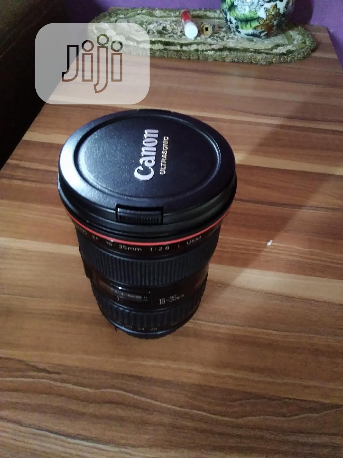 Canon 16-35mm F/2.8 Zoom Lens | Accessories & Supplies for Electronics for sale in Alimosho, Lagos State, Nigeria