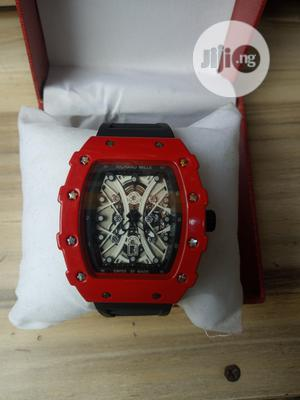 Richard Mille Men's Rubber Wristwatch | Watches for sale in Lagos State, Surulere