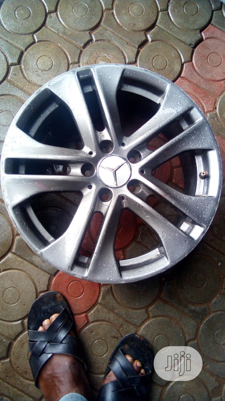 Benz Rugged Five Finger 17rim Designer Alloy Wheel