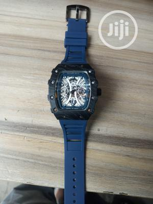 Richard Mille Men's Blue Rubber Wristwatch   Watches for sale in Lagos State, Surulere