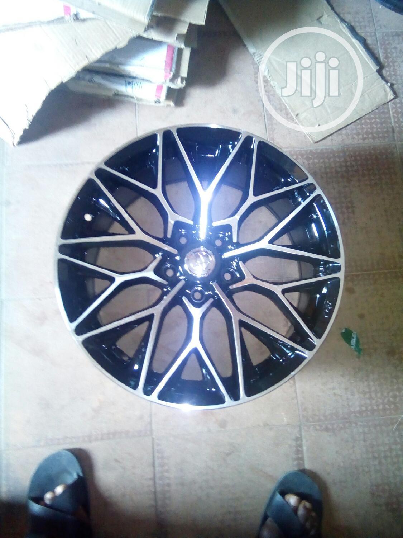 Car Star Designer Alloy Wheel 17rim | Vehicle Parts & Accessories for sale in Apo District, Abuja (FCT) State, Nigeria