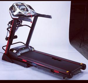 3.5hp Body Fit Treadmill With Massager And Dumbbell | Sports Equipment for sale in Lagos State, Surulere