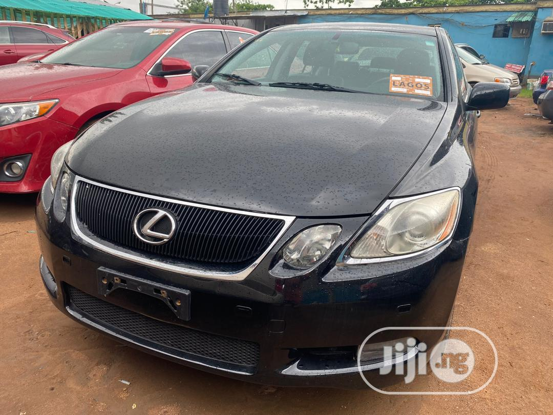 Archive: Lexus GS 350 4WD 2007 Black