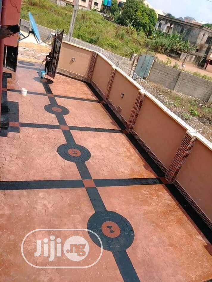 Full Pop Ceiling, Increte Stamped Flooring, Wall Painting | Building & Trades Services for sale in Onitsha, Anambra State, Nigeria