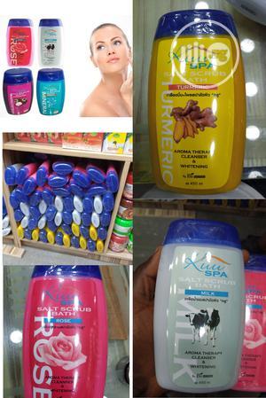 Kuu Spa Salt Scrub Bath Aroma Therapy Cleanser Whitening. | Bath & Body for sale in Lagos State, Ojo