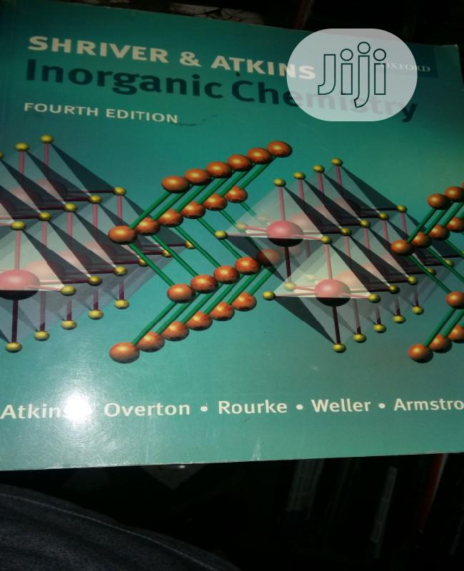 Inorganic Chemistry By Sheriver And Atkins