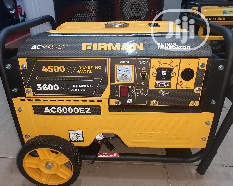 Firman Petrol Generator