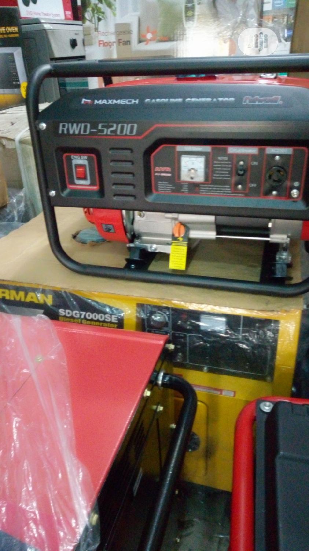 Maxmech Generator Rwd5200