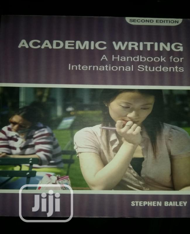 Archive: Academic Writing By Bailey