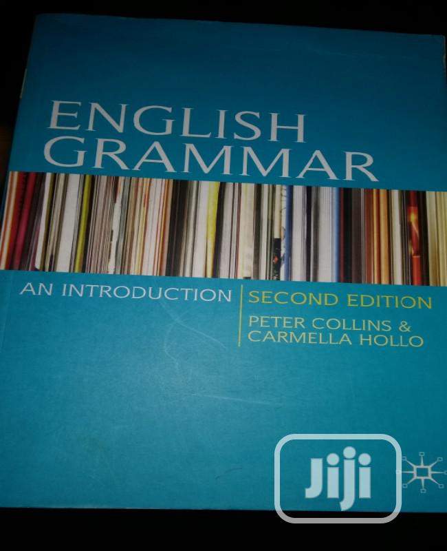 English Grammar An Introduction By Collins