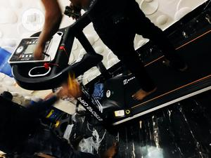 2hp Body Fit Treadmill With Massager and Dumbbell | Sports Equipment for sale in Lagos State, Surulere