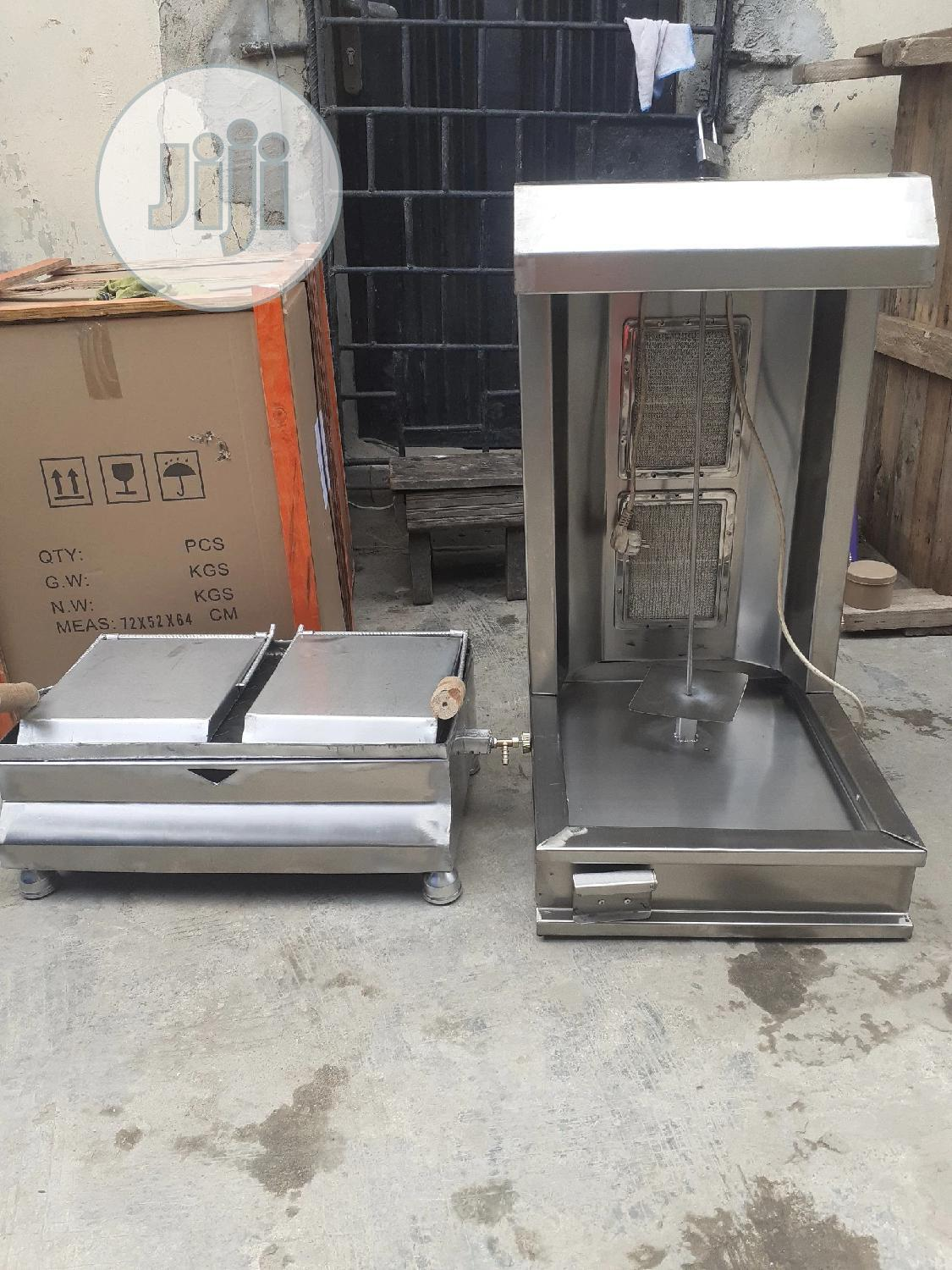 Shawarma Machine And Toaster With 1year Warranty | Restaurant & Catering Equipment for sale in Ojo, Lagos State, Nigeria