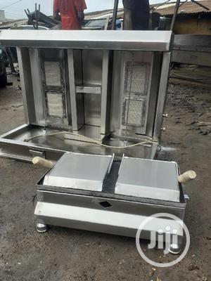 Shawarma Machine 4burner With Double Toaster Grill | Restaurant & Catering Equipment for sale in Lagos State, Ojo