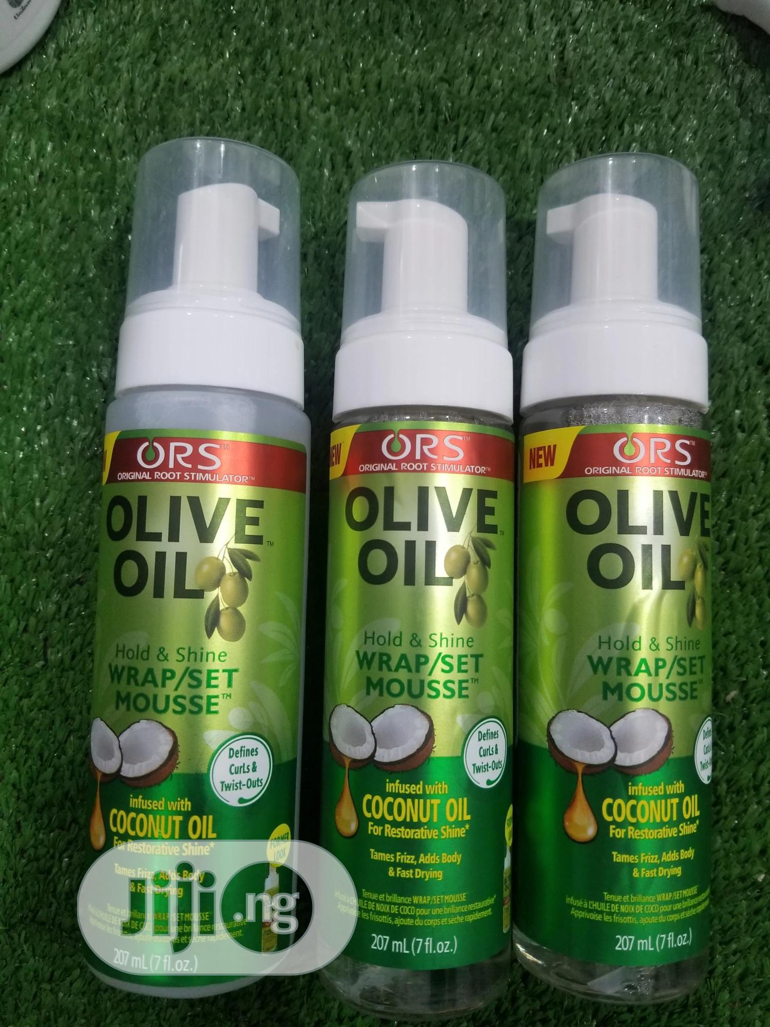 Olive Oil Mousse