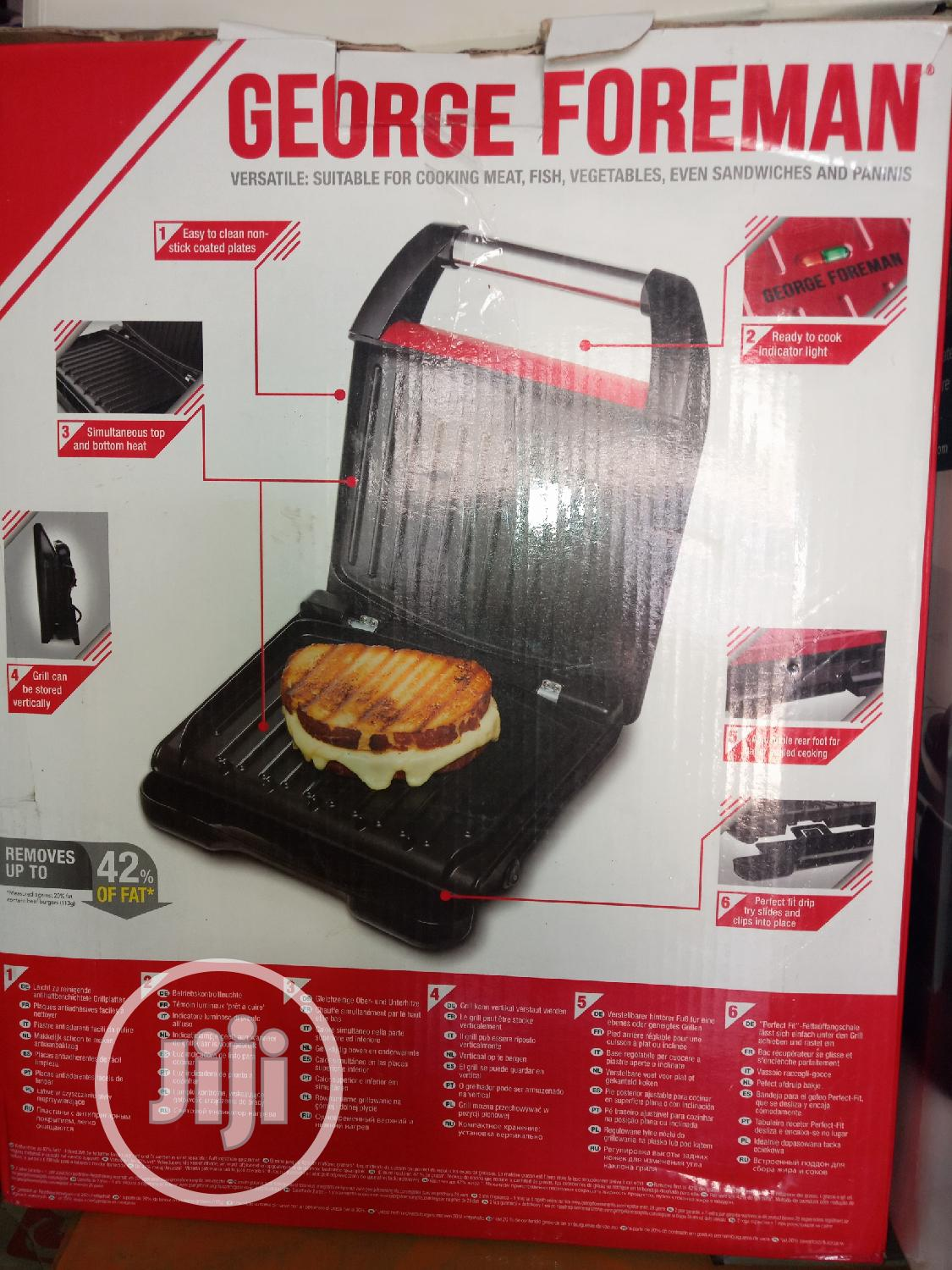 Gorege Foreman Compact Steel Grill. | Kitchen Appliances for sale in Ojo, Lagos State, Nigeria