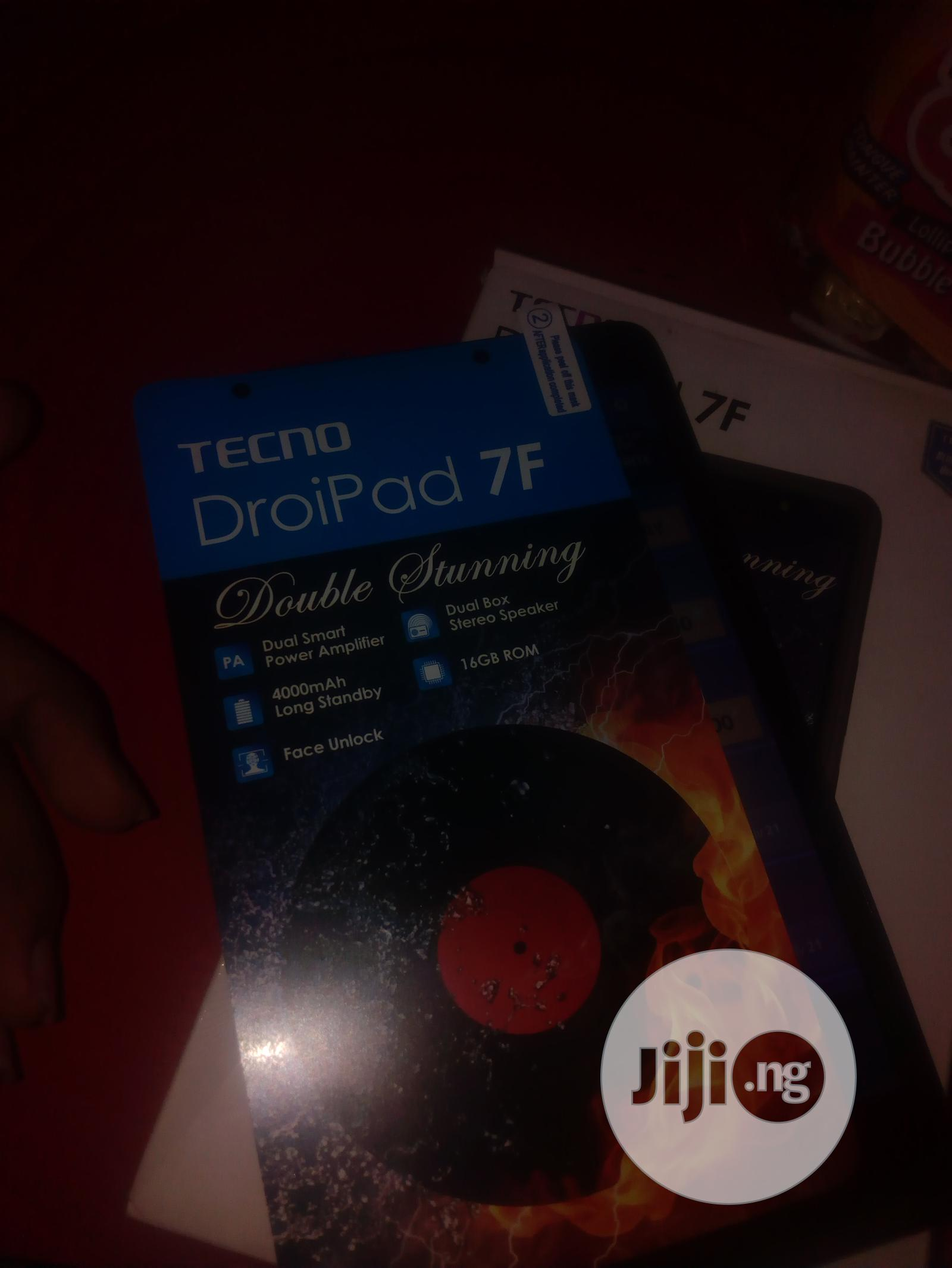 Archive: Tecno DroiPad 7E 16 GB Black