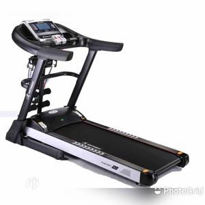 Bodyfit 3.5hp Treadmill With Massager   Sports Equipment for sale in Lagos State, Ikoyi