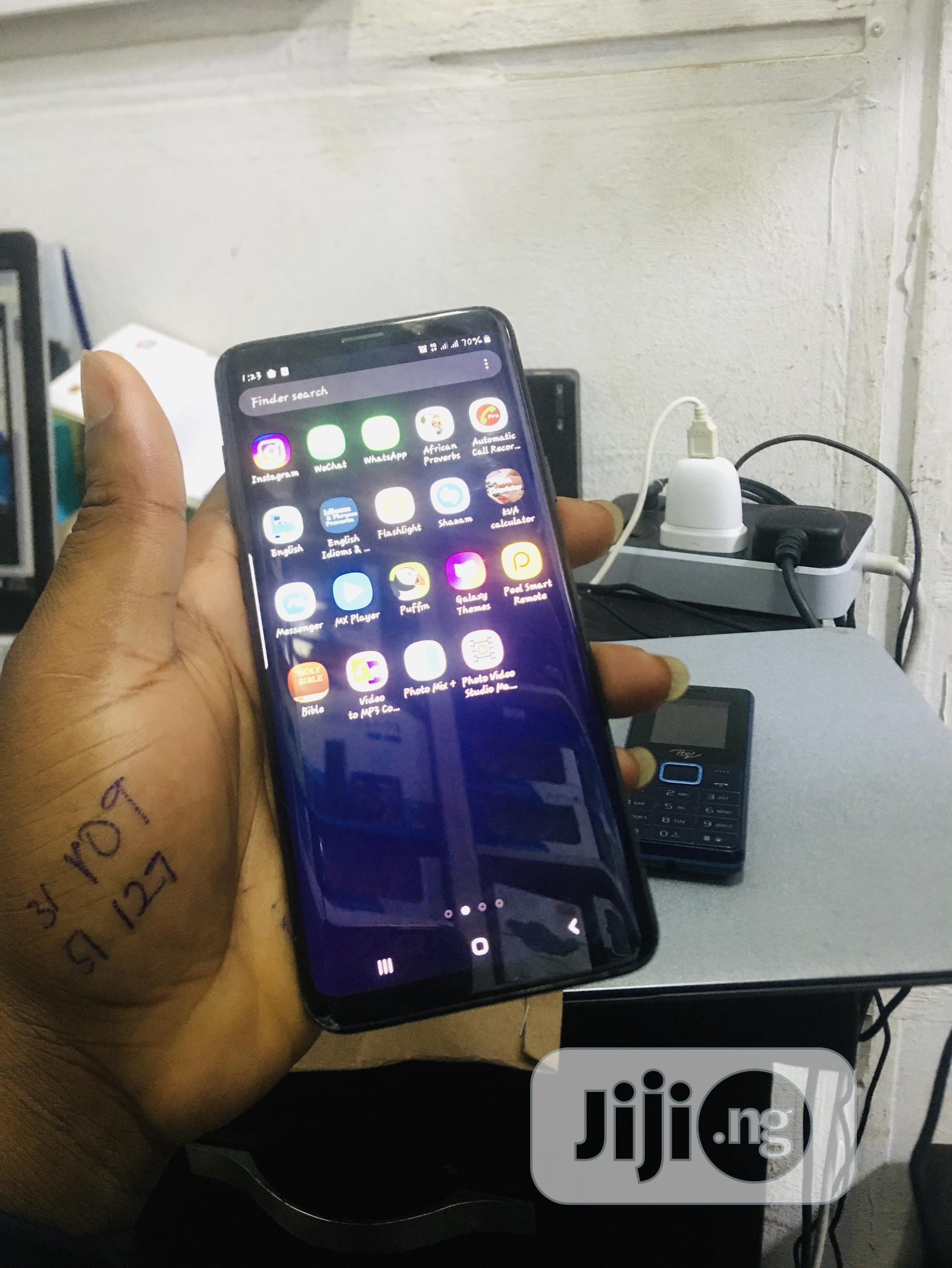 Samsung Galaxy S9 Plus 128 GB Black