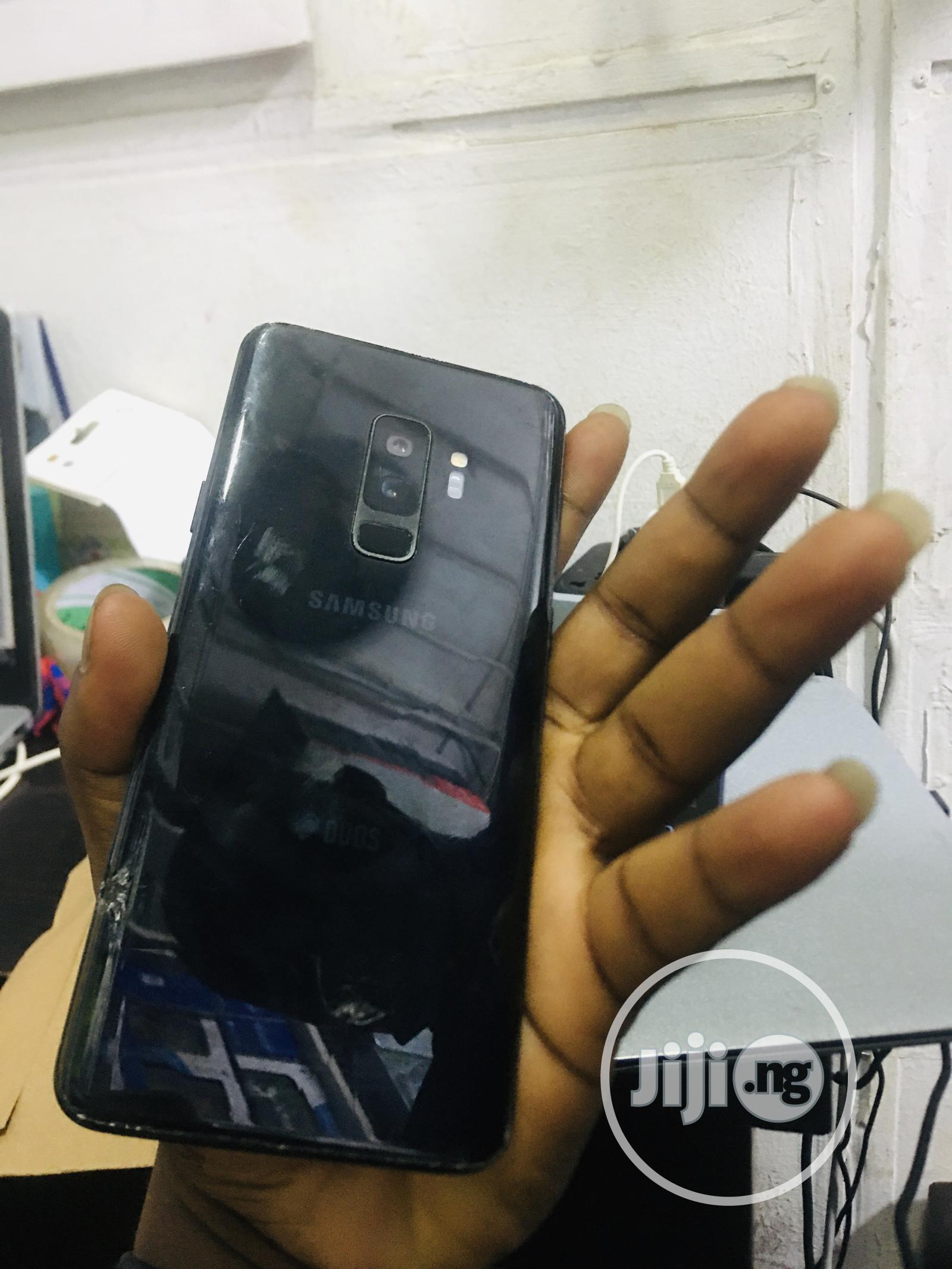 Samsung Galaxy S9 Plus 128 GB Black | Mobile Phones for sale in Ikeja, Lagos State, Nigeria