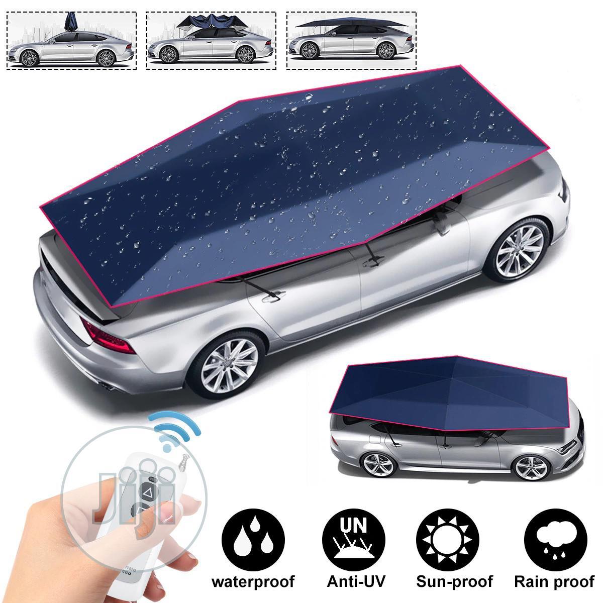 Remote Control Automatic Tent Waterproof Car Umbrella