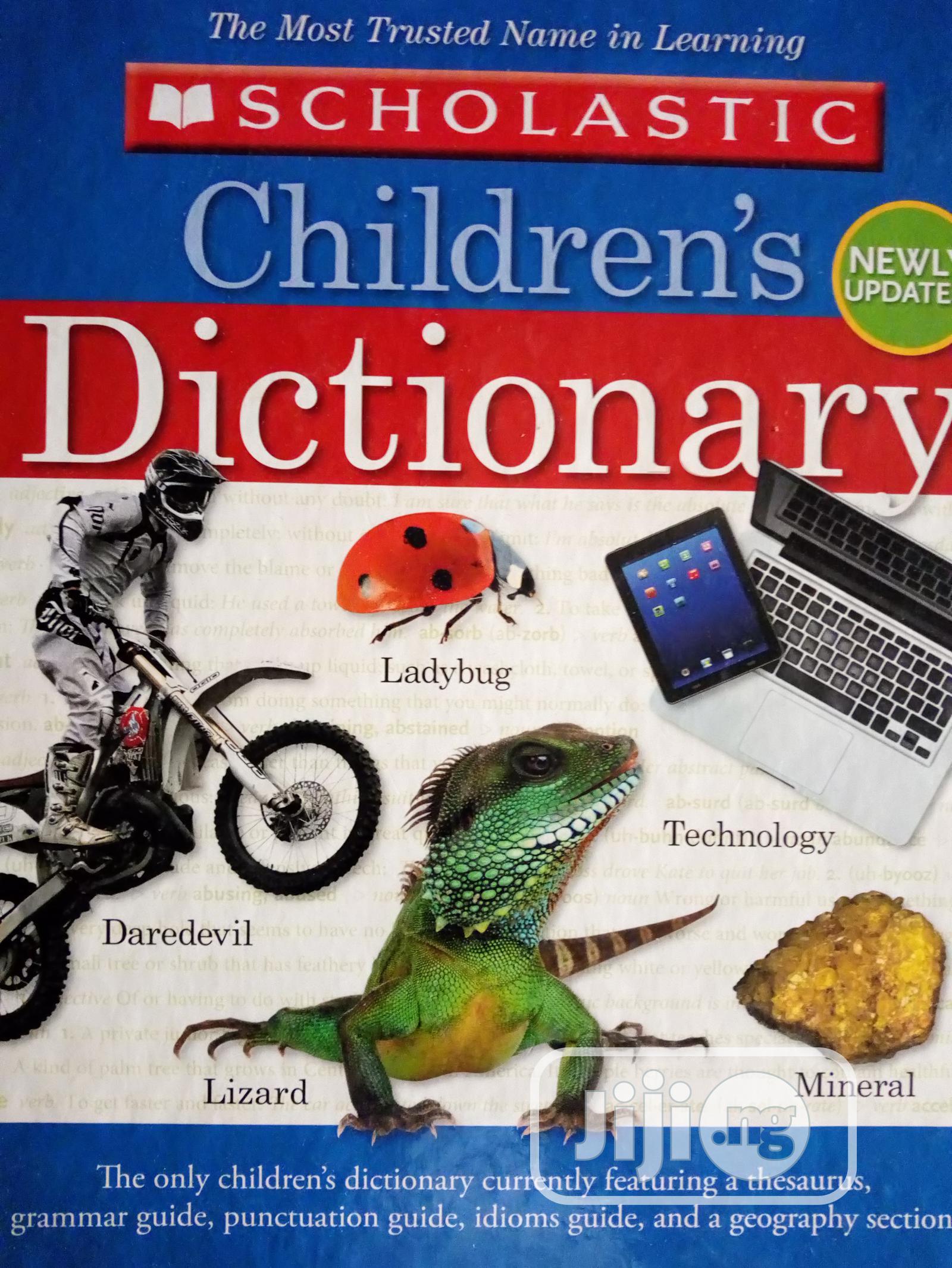 Scholastic Dictionary