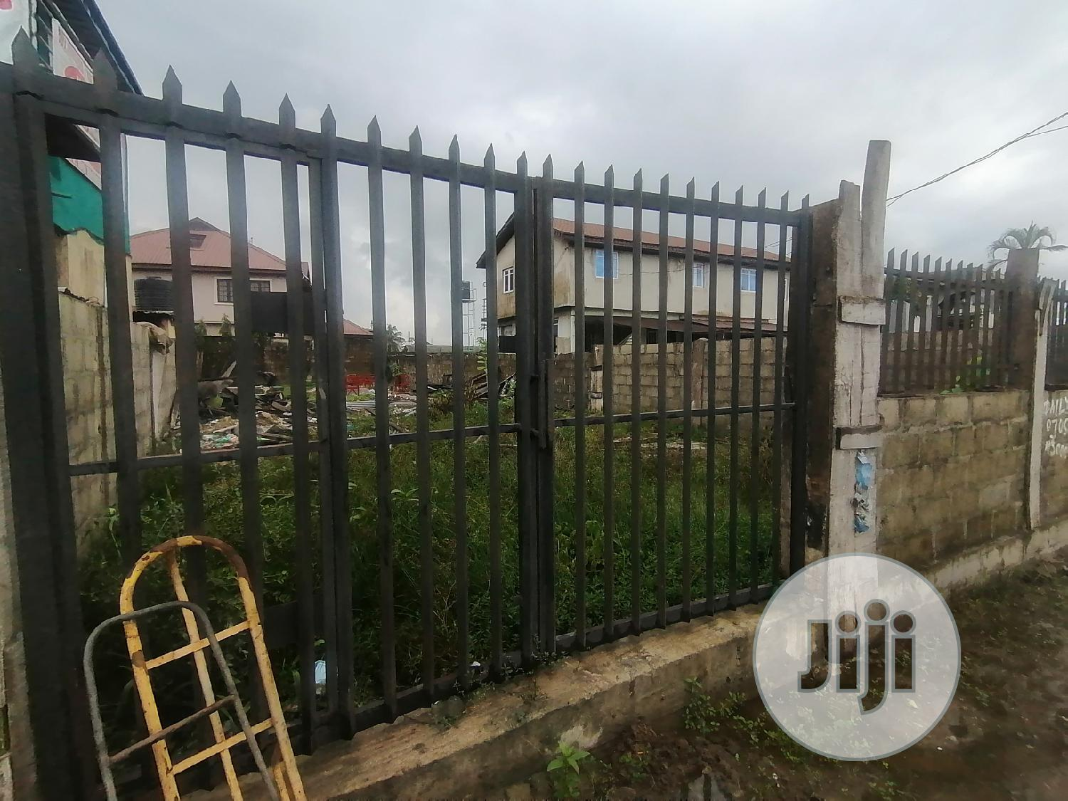 Half Plot For Rent Directly Facing Express At Eputu Town