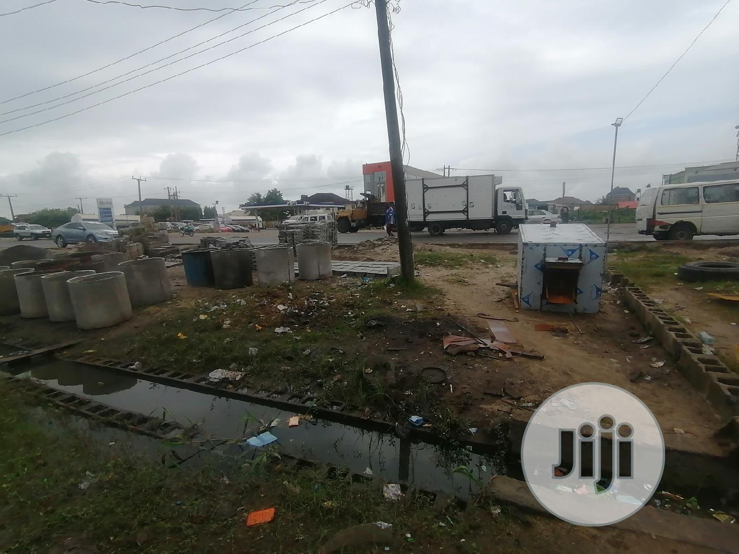 Half Plot For Rent Directly Facing Express At Eputu Town | Land & Plots for Rent for sale in Ibeju, Lagos State, Nigeria