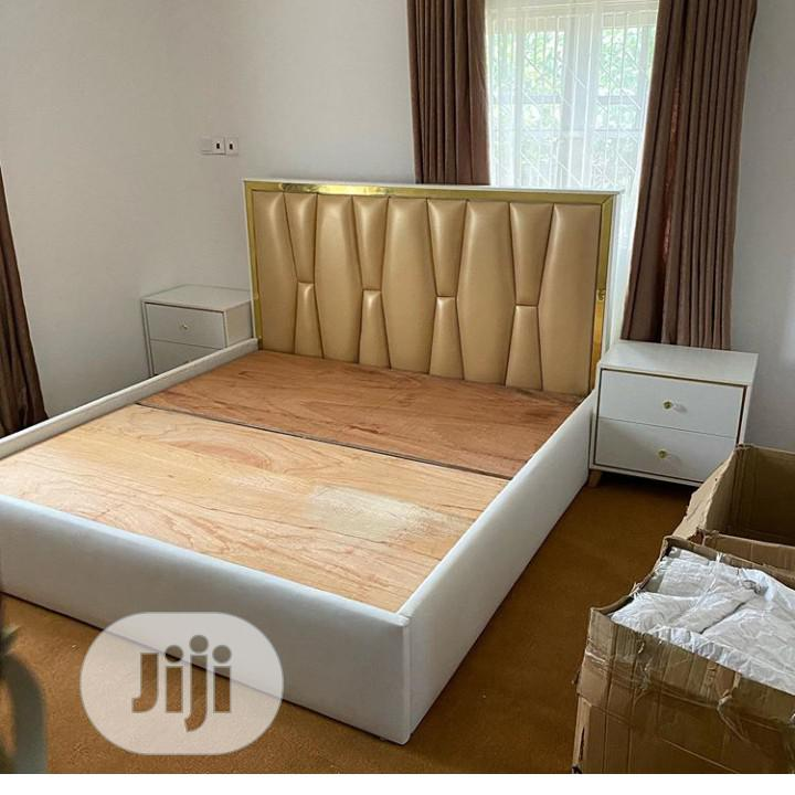 Set Of Bed Frame...With Two Bed Sides
