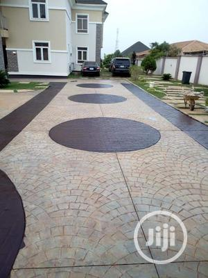Excellent Stamp Concrete Floor Installation | Cleaning Services for sale in Lagos State, Gbagada