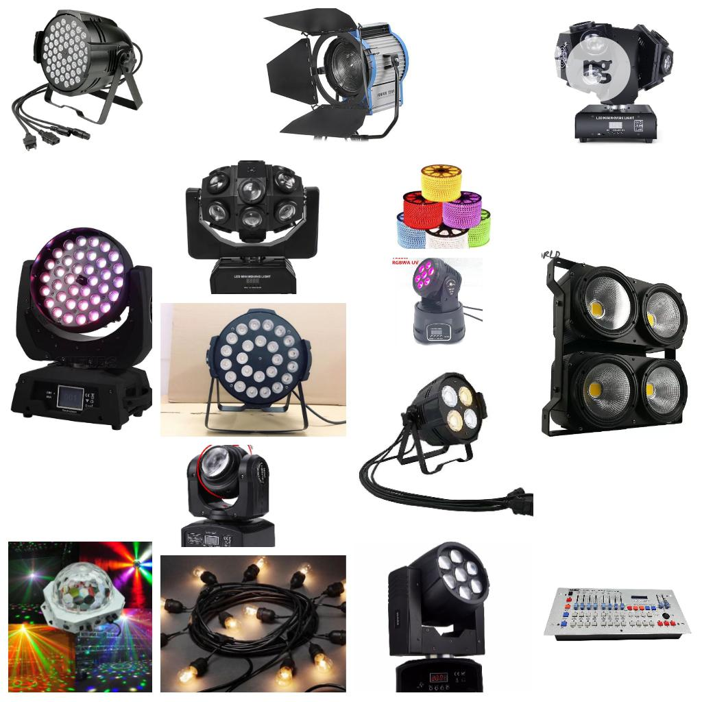 All Kinds Of Stage And Club Lights Available