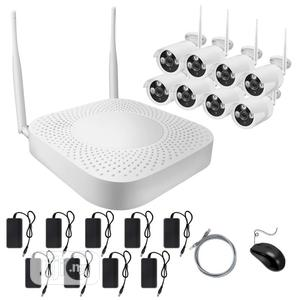 8 Way Cctv Kit Camera Wireless   Security & Surveillance for sale in Lagos State, Ojo