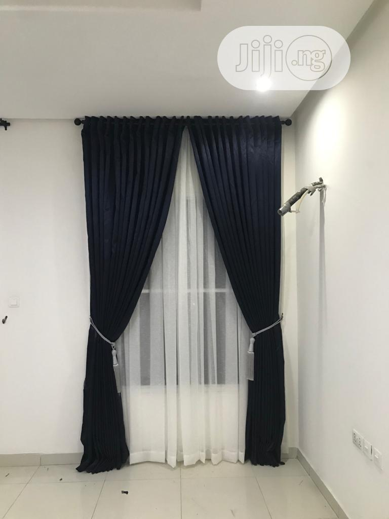 Quality Italian Curtain's Available For Your Homes | Home Accessories for sale in Surulere, Lagos State, Nigeria
