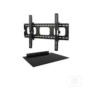 Wall Bracket & Single Layer Decoder/Audio Shelf-30''-70'' | Accessories & Supplies for Electronics for sale in Lagos State, Alimosho