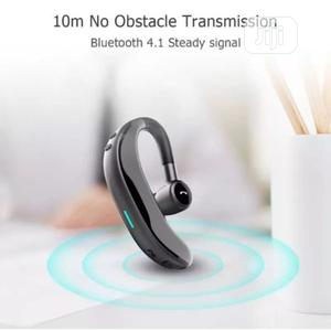F600 Wireless Bluetooth Earpiece - Black   Headphones for sale in Lagos State, Alimosho
