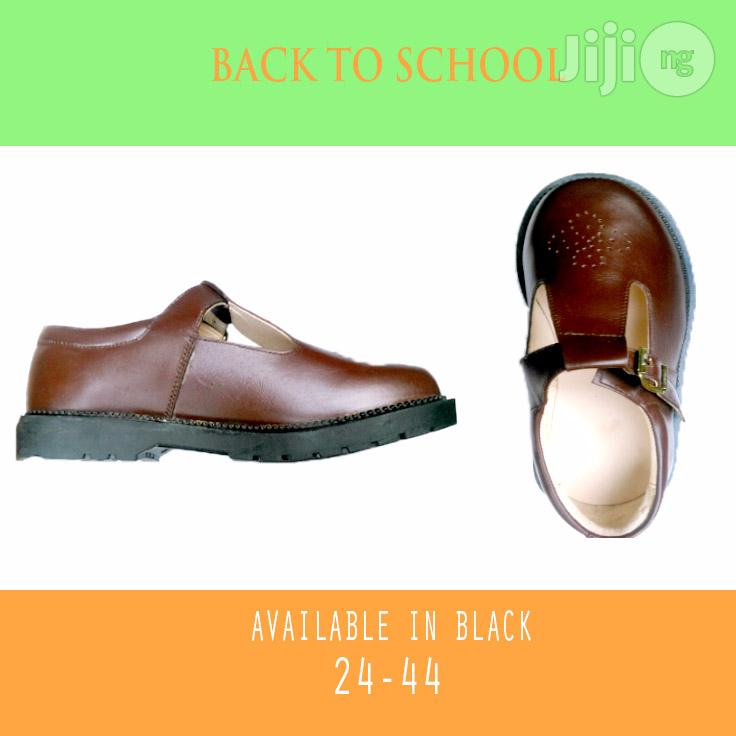Back To School Cortina Brown Shoe