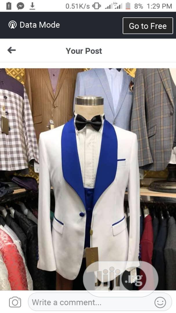 Cream Colour Tuxedo