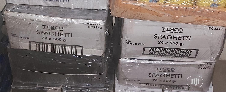 Tesco Spaghetti 24units/Carton