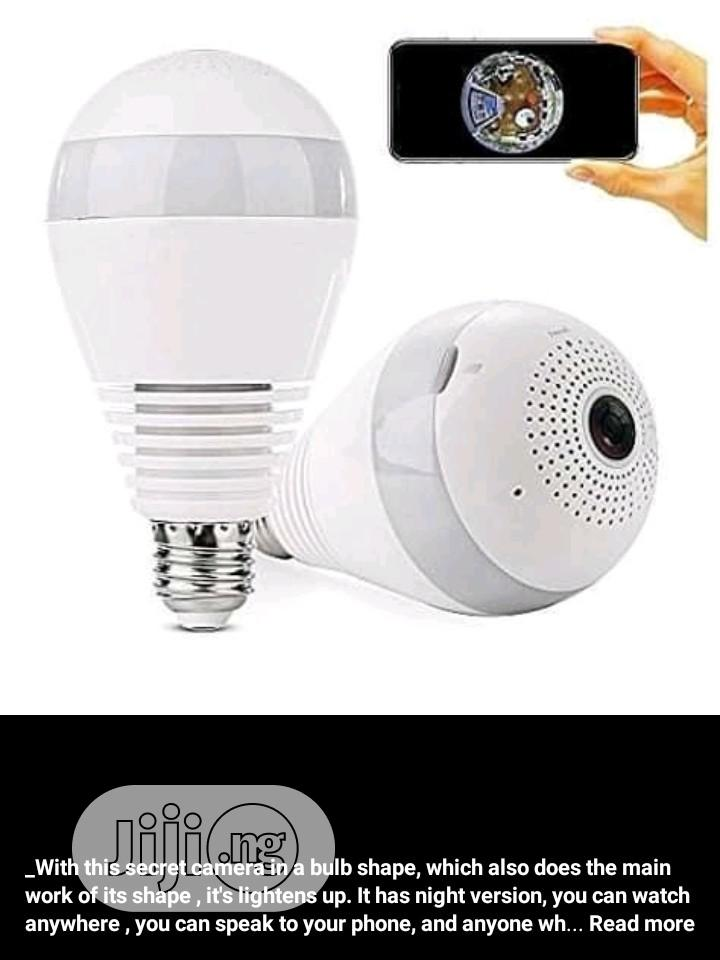 Wifi CCTV Bulb Camera | Security & Surveillance for sale in Ojo, Lagos State, Nigeria