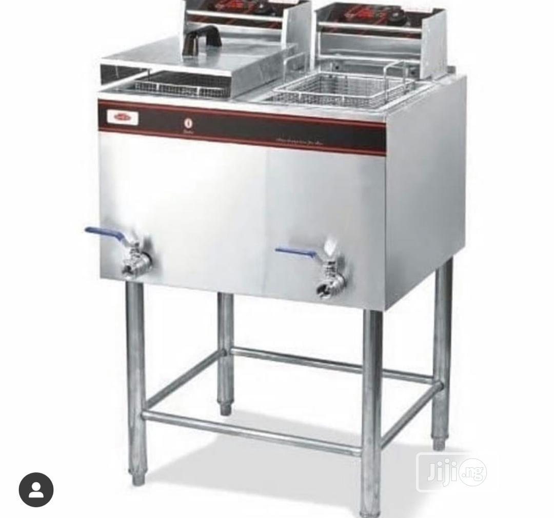 Double Deep Gas Fryer Gas