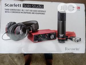 Scarlett Solo Studio   Audio & Music Equipment for sale in Lagos State, Ojo