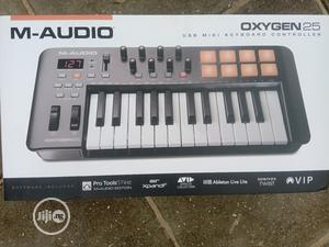 Midi Keyboard With Pad Oxygen 25   Musical Instruments & Gear for sale in Lagos State, Ojo