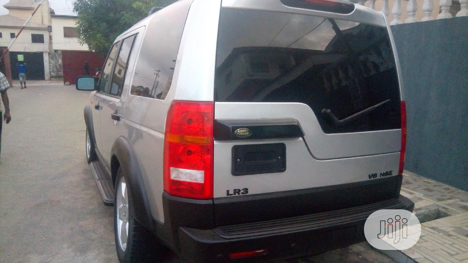 Archive: Land Rover LR3 HSE 2006 Silver