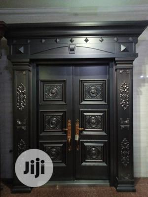 5ft Royal Pure Copper Turkey Door. ( Extra Height 8feet)   Doors for sale in Lagos State, Orile