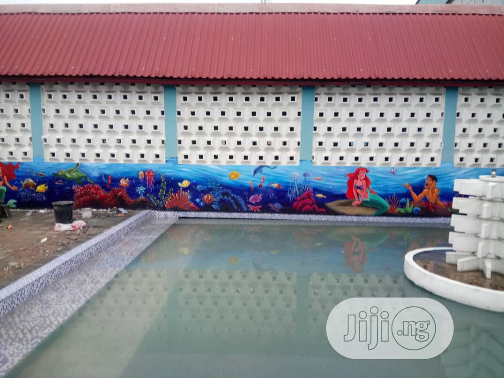 Artwork: For Your Wall Art, Mural And Graffiti Painting | Arts & Crafts for sale in Ikeja, Lagos State, Nigeria