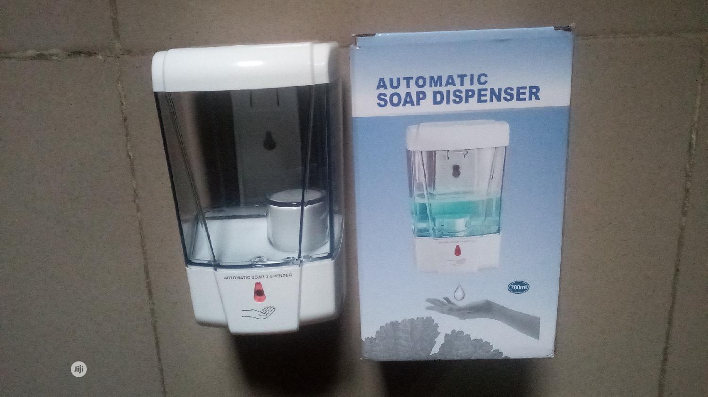 Archive: Automatic Sanitizer Dispenser