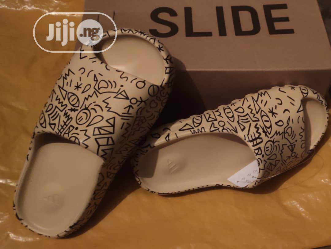 Original Adidas Yeezy Slides | Shoes for sale in Amuwo-Odofin, Lagos State, Nigeria